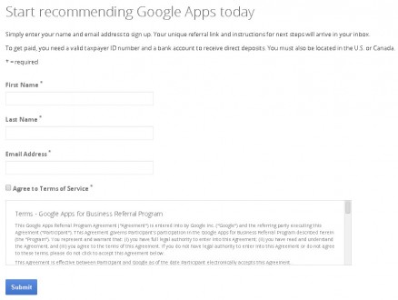 googleappsform