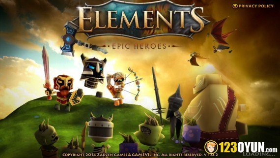 Elements Epic Heroes 5