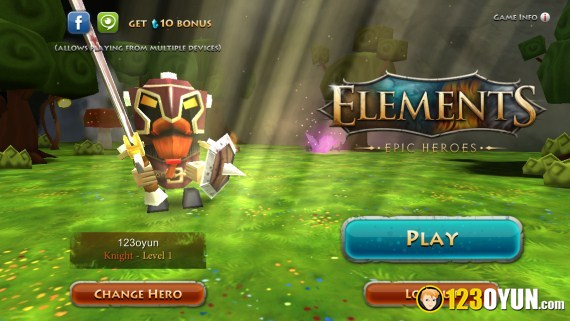 Elements Epic Heroes 8