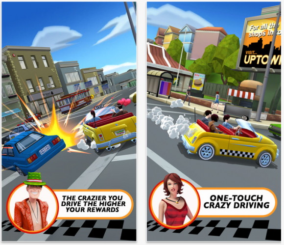 Crazy Taxi City Rush 1