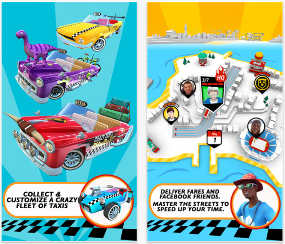 Crazy Taxi City Rush 2