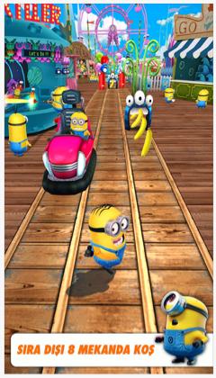 Çılgın Hırsız Minion Rush Oyunu
