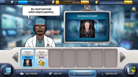 Criminal Case Dedektiflik Oyunu