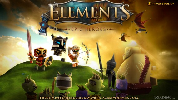 Elements Epic Heroes Poster